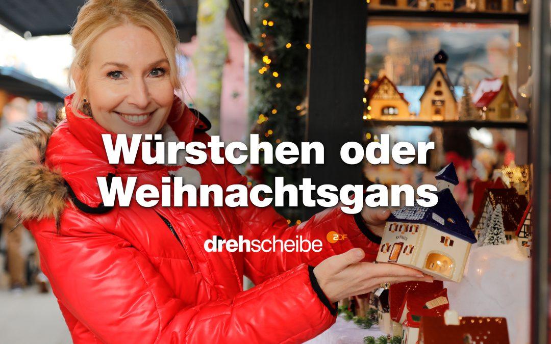 Drehscheibe – Würstchen oder Weihnachtsgans – Was darf's sein zum Fest?